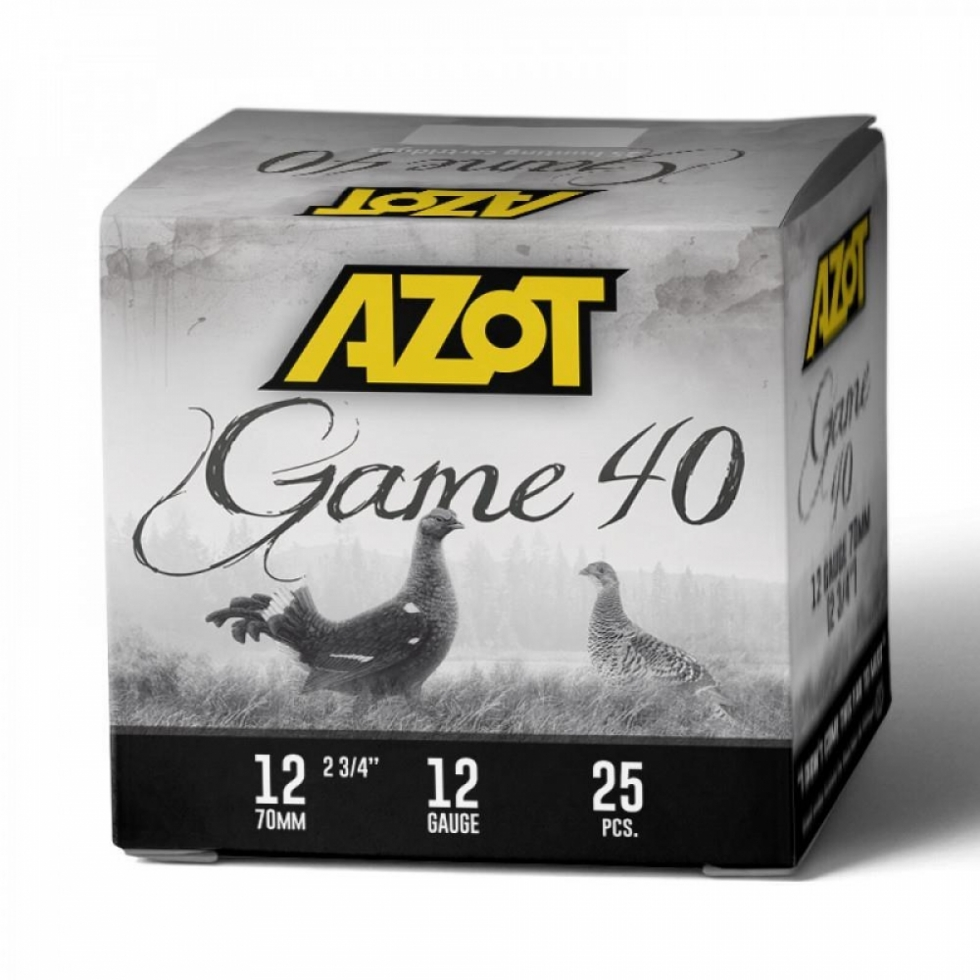Azot Game 40, 12/70, №1, 40гр.