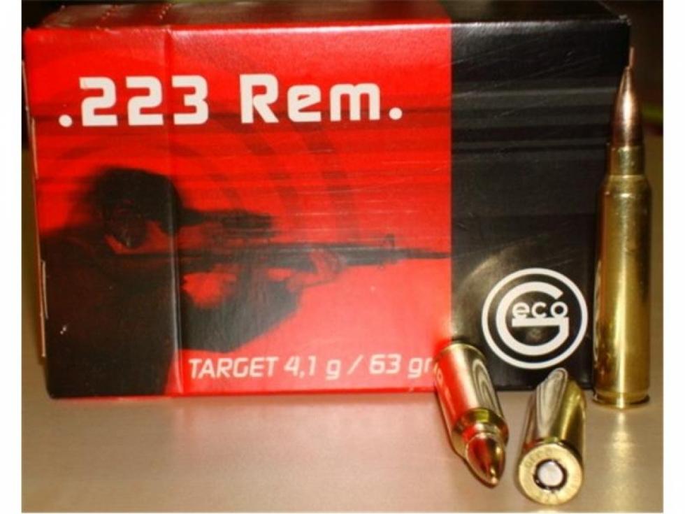 Geco .223Rem, FMJ Target, 4,1 гр , 50 шт
