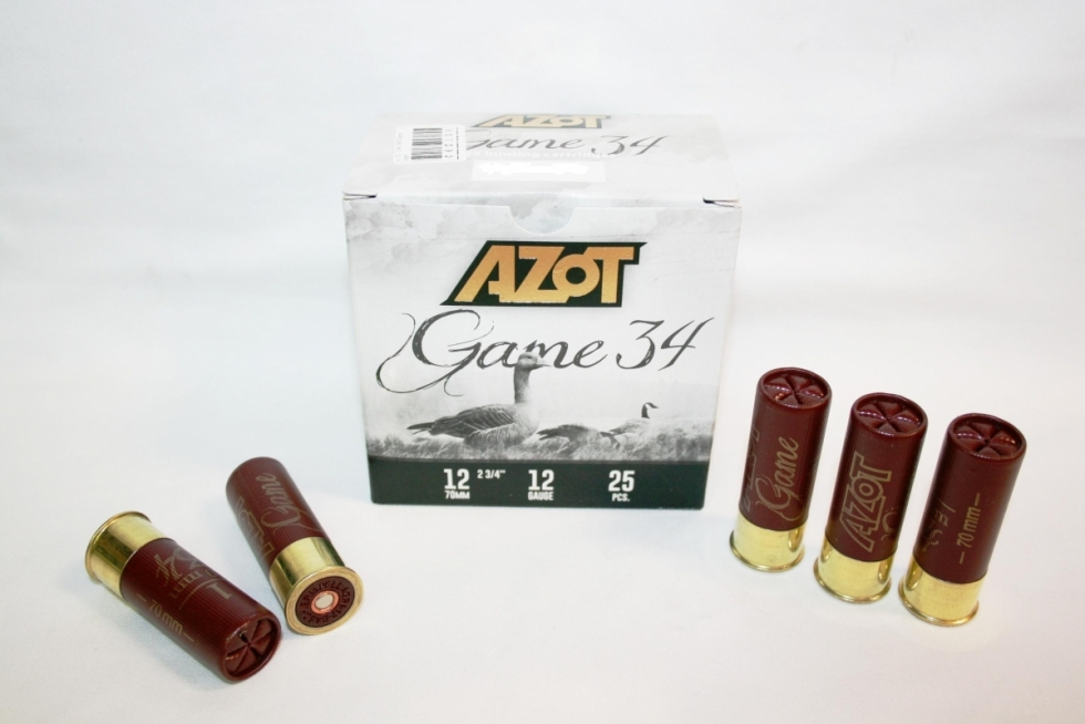Azot Game 34, 12/70, №0, 34гр.