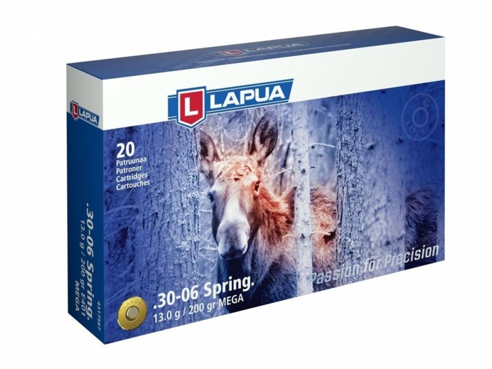 Lapua, .30-06 SPRG.,  Mega SP, 200gr./13гр, 20 шт.