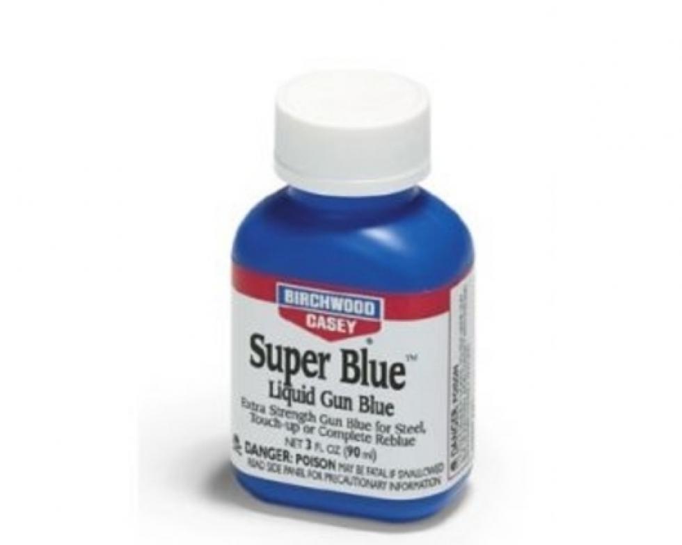 Средство для воронения по стали концентрированное Birchwood Super Blue 90мл
