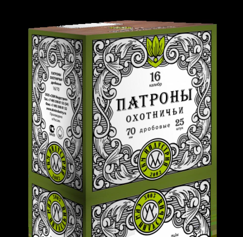 СКМ Дробь, 16/70, №3, Б/К, 30гр.